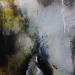 2014 - Parfum de l'eau 100 x 100 cm